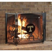 HensonMetalWorks 3 Panel Collegiate Fire Screen; Tennessee