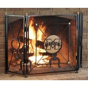 HensonMetalWorks 3 Panel Collegiate Fire Screen; Mississippi State