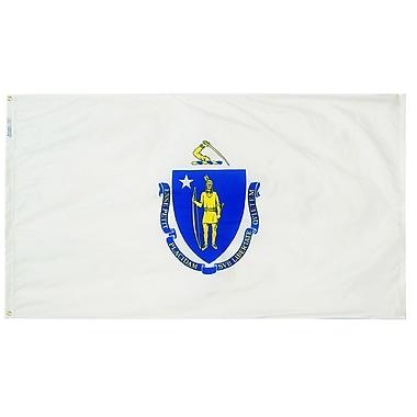 Annin Flagmakers Massachusetts State Flag; 3' x 5'