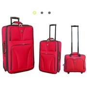Travelers Club Bowman 3 Piece Luggage Set
