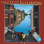Sellers Publishing 2016 Master of Illusion Wall Calendar