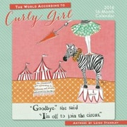Sellers Publishing 2016 World According to Curly Girl Wall Calendar