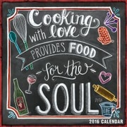 Sellers Publishing 2016 Cooking with Love Provides Food for the Soul Wall Calendar