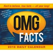 Sellers Publishing 2016 OMG Facts Boxed Daily Calendar