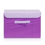 Furinno Storage Bin; Purple