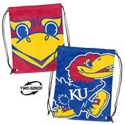 Logo Chairs NCAA Doubleheader Backsack; Kansas