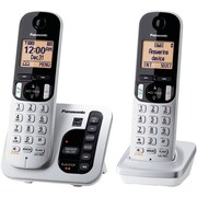 Panasonic Dect 6.0 Plus Expandable Digital Cordless Answering System (2-handset System)