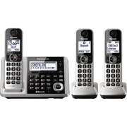 Panasonic Dect 6.0 1.9 Ghz Link-to-cell Expandable Digital Cordless, With Pstn & Tad (3 Handsets)