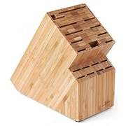 CUL Distributors Culina Bamboo Countertop Knife Block
