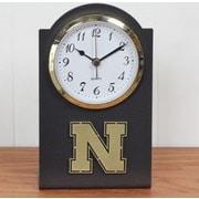 HensonMetalWorks Collegiate Desk Clock; Nebraska