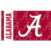 BSI Products NCAA Traditional Flag; Alabama - A Logo on Red (Two Sided)