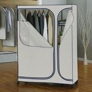 OIA Twilight 64'' H x 45.5'' W x 20'' D Storage Wardrobe