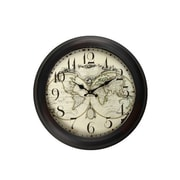AdecoTrading 18.5'' Antique-Inspired Round Wall Hanging Clock