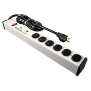 Wiremold® Perma Power® 6-Outlet Computer Grade Surge Protector, 15'