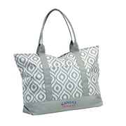 Logo Chairs NCAA Shopping Tote; Kansas