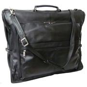 AmeriLeather Leather Garment Bag; Black