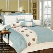 Livingston Home Lunar 11 Piece Bed in a Bag Set