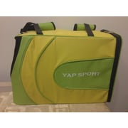 Yap USA Sports Backpack Pet Carrier; Yellow/Green