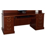 High Point Furniture Bedford Executive Desk with Keyboard Tray; Windsor Cherry