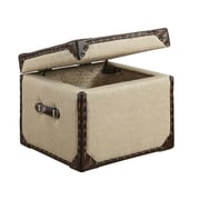 Emerald Home Furnishings Humphrey Cube Trunk with Lid
