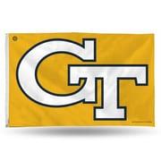 Rico Industries NCAA Banner Flag; Georgia Tech Yellow Jackets