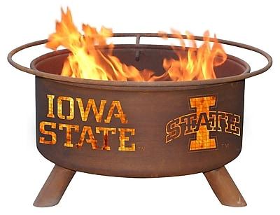 Patina Products Collegiate Fire Pit; Iowa State