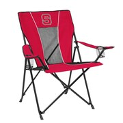 Logo Chairs NCAA Game Time Chair; North Carolina State