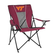 Logo Chairs NCAA Game Time Chair; Virginia Tech