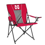 Logo Chairs NCAA Game Time Chair; Nebraska