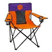 Logo Chairs NCAA Elite Chair; Clemson