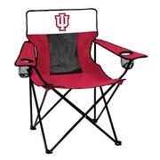 Logo Chairs NCAA Elite Chair; Indiana