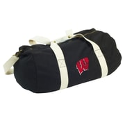 Logo Chairs NCAA 22'' Travel Duffel; Wisconsin