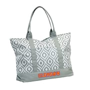 Logo Chairs NCAA Shopping Tote; Clemson