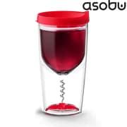 AdNArt Asobu Wine Opener Cup; Red