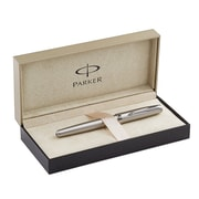 Parker Sonnet Rollerball Pen, Stainless Steel (S0809230)