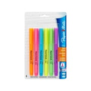 Paper Mate Intro Highlighter, Chisel Tip, Assorted, 6/Pack (22776)