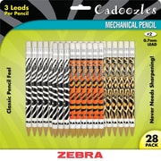 Zebra Mechanical Pencil, #2, 0.7mm, 28/Pack (51628)