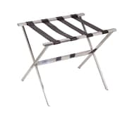 Household Essentials Stainless Steel Luggage Rack (2128-1)