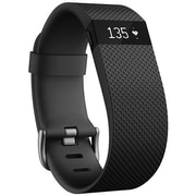 Fitbit ChargeHR Heart Rate Activity Wristband, Small, Black (FB405BKSS)