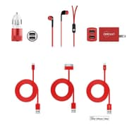 Acesori Universal Apple Certified 6-in-1 Accessory Kit, Assorted Colors