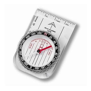 Digiwave – Compas en plastique résistant à l'eau, 5 x 3 x 1 po, transparent
