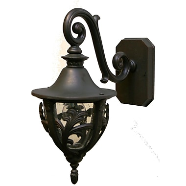 Melissa Tuscany 1 Light Outdoor Wall Lantern; Patina Bronze