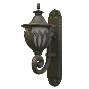 Melissa Tuscany 3 Light Outdoor Sconce; Old World