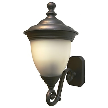 Melissa Tuscany 3 Light Outdoor Sconce; Old Bronze