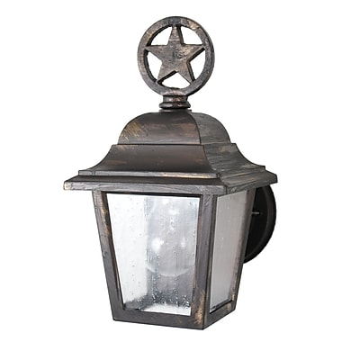 Melissa Americana 1-Light Outdoor Sconce; White
