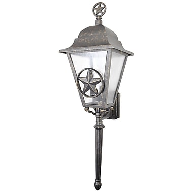 Melissa Americana 3-Light Outdoor Sconce; Old Iron