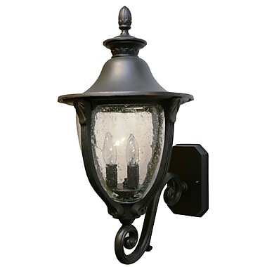 Melissa Tuscany 4 Light Outdoor Sconce; Old World