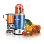 The Magic Bullet 8 Piece Nutri Bullet Set; Blue