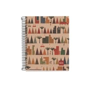 """Miquelrius EcoCity Recycled Four-Subject Notebook, College Ruled, 8.5"""" x 11"""" (45060)"""