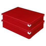 Pop N Store Document Box, 2/Pack (PNS03LSRD2)